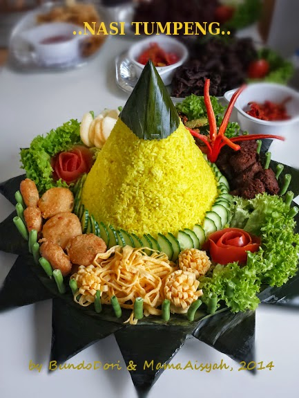 Our Very First Commercial Nasi Tumpeng (Yeay!)