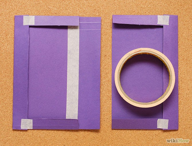 How to Cover a Book With a Paper Folder step 4