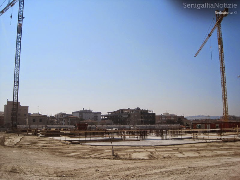 Lavori fermi all'area ex Sacelit di Senigallia