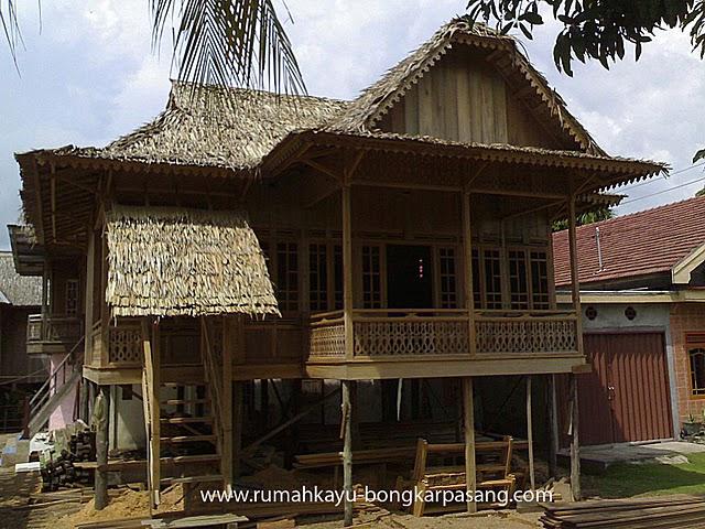 Rumah Panggung - Bongkar Pasang