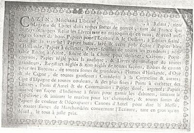Tout savoir sur Cazin ou presque : rappel de piqûre par le Dr Rhemus dans Bibliophilie, imprimés anciens, incunables CAZIN+Prospectus+%25281%2529