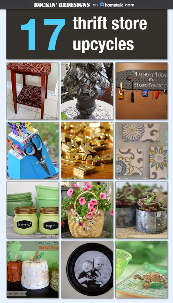 Upcycled and Repurposed Projects