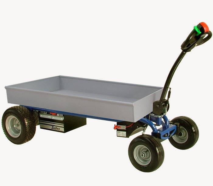 Powered Cart Zallys Jespi L Electric Platform Trolley