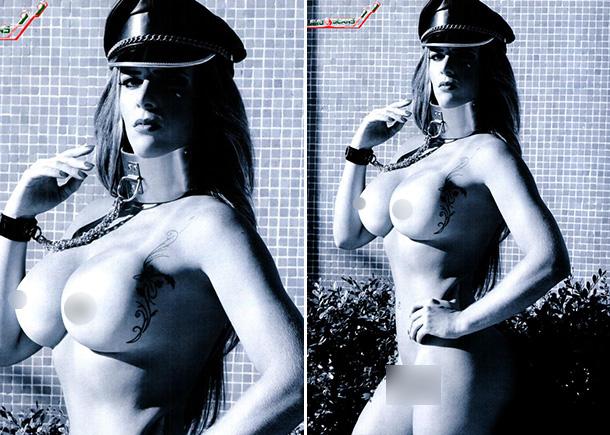 """Denise Rocha a ex-assessora do senador Ciro Nogueira na """"Playboy"""""""
