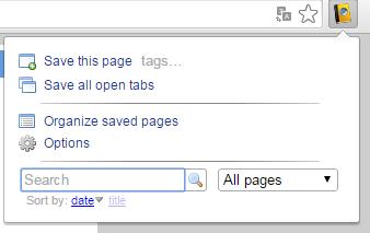 Cara Menyimpan Seluruh Halaman Web untuk dibaca secara offline