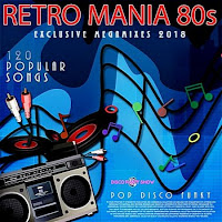 Baixar CD Retro Mania 80s Disco Funky 2018 Torrent