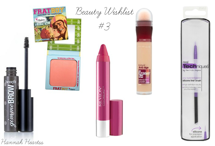 Beauty Wishlist