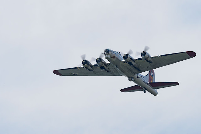 "B-17 Flying Fortresses, ""Aluminum Overcast"""