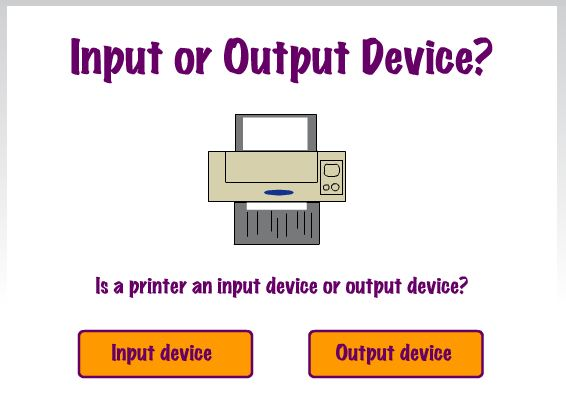 information technology input and output devices Input and output devices are required for users to communicate with the computerinput devices bring information into the computer and output device send information.