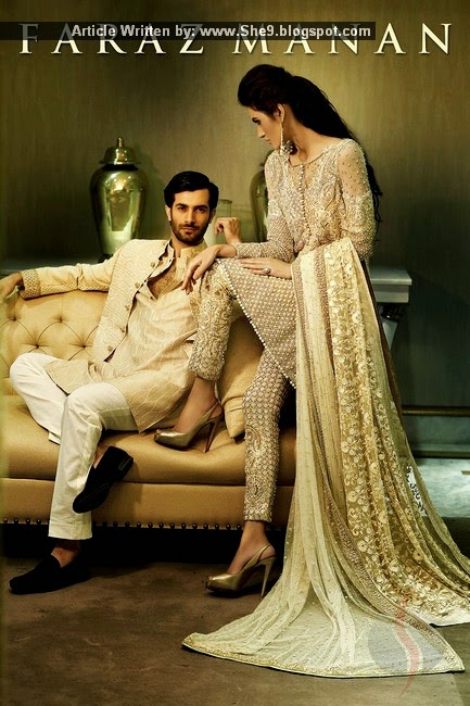 Faraz Manan Designer Fancy Dresses for Brides