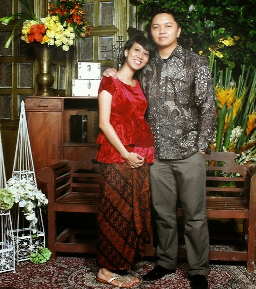 Model Batik Kebaya Ibu Hamil