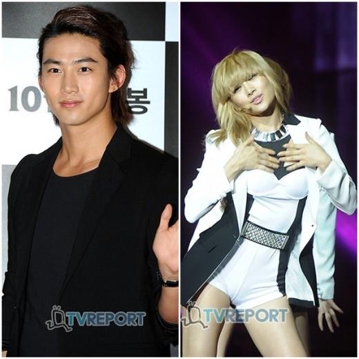 Taecyeon 2PM & Nicole KARA