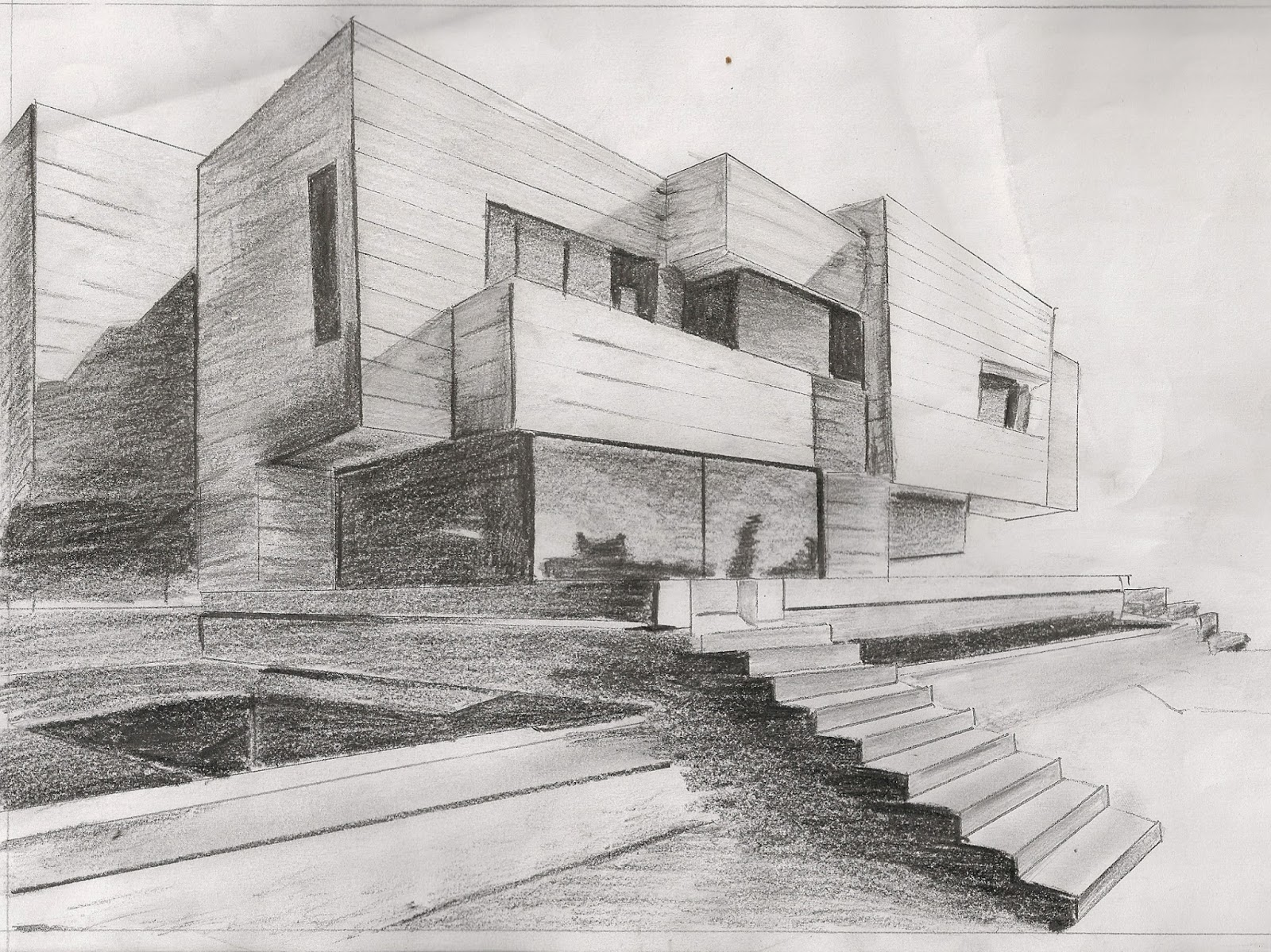 1107511916 december 2013 Drawing modern houses