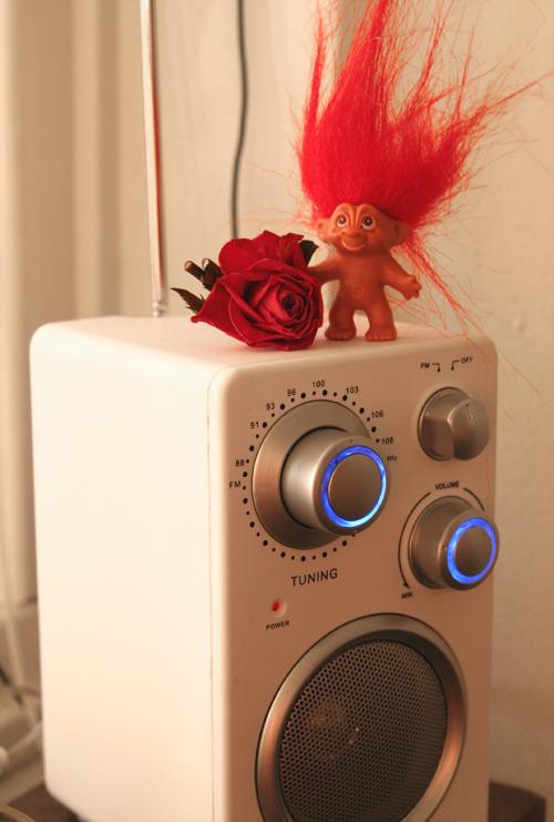radion från yttre rymden