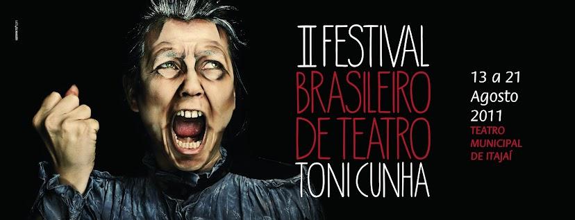 II Festival Brasileiro de Teatro - Toni Cunha