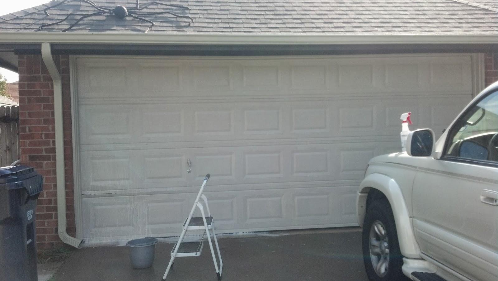 redone my garage door too see my other post staining the garage door. Black Bedroom Furniture Sets. Home Design Ideas