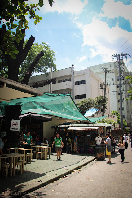 Agno beside De La Salle University - Manila