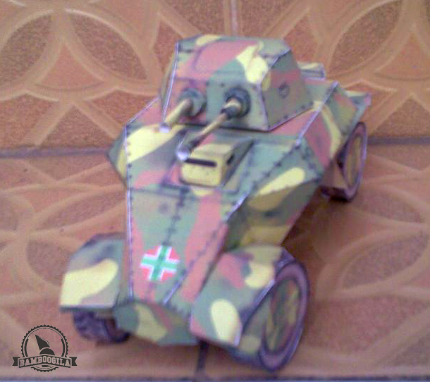39M Csaba Papercraft