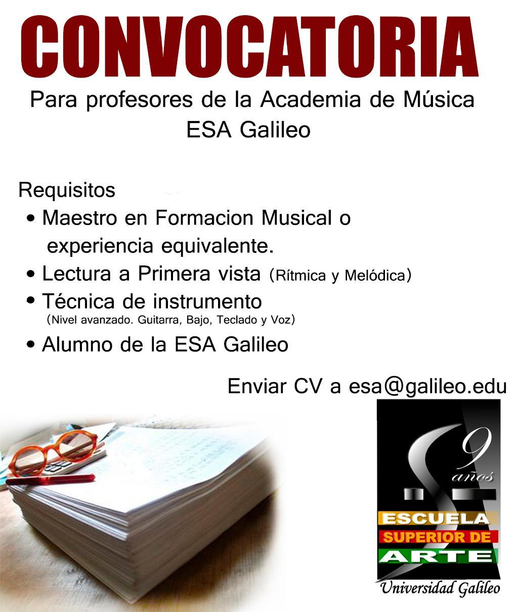 Hip hop guatemala convocatoria para profesores de la for Convocatorias para profesores 2016