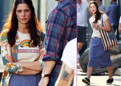 Ashley Greene's 'CBGB' Savannah Shoot » Gossip/Ashley Greene
