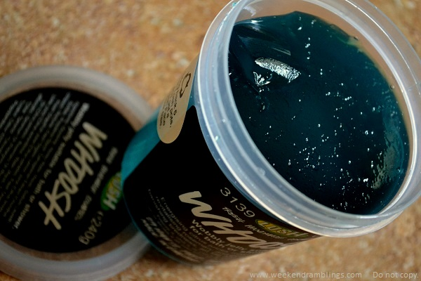 Lush Skincare Shower Jelly Whoosh Reviews Ingredients