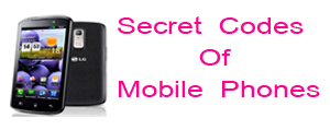 secret codes of mobile phones