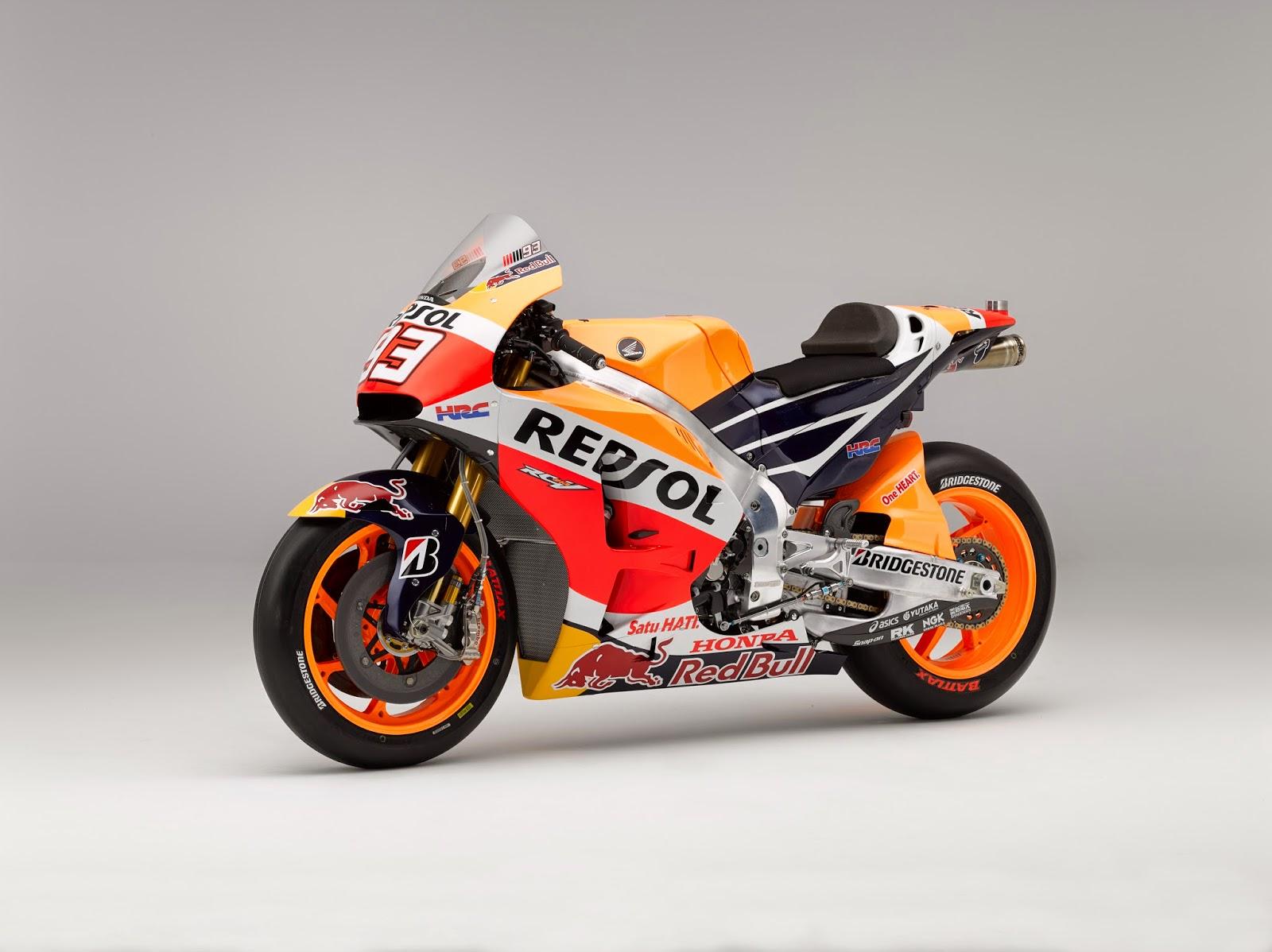 Racing Cafè: Honda RC 213V Repsol Honda Team MotoGP 2015