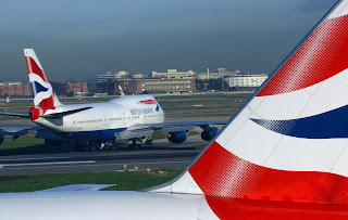 British+airways+747+takeoff+press+photo.