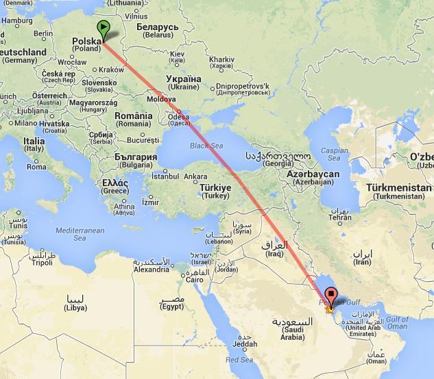 Welcome in Saudi Arabia again czyli .... nadaję się na wróżkę