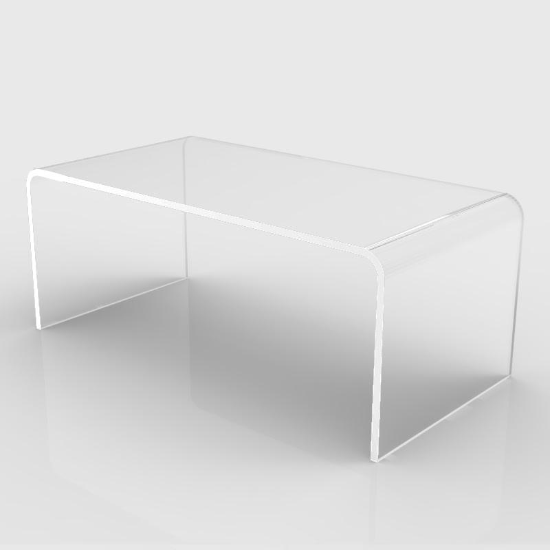 tavolini in plexiglass trasparente