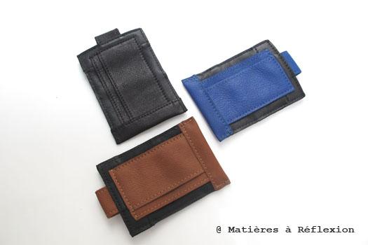 pochette iphone cuir Matières à réflexion