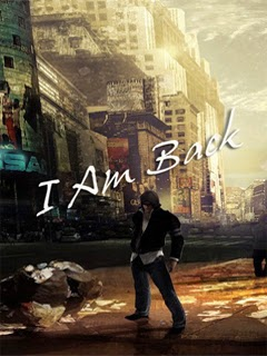 I Am Back - 240x320 Sayings Mobile Wallpaper