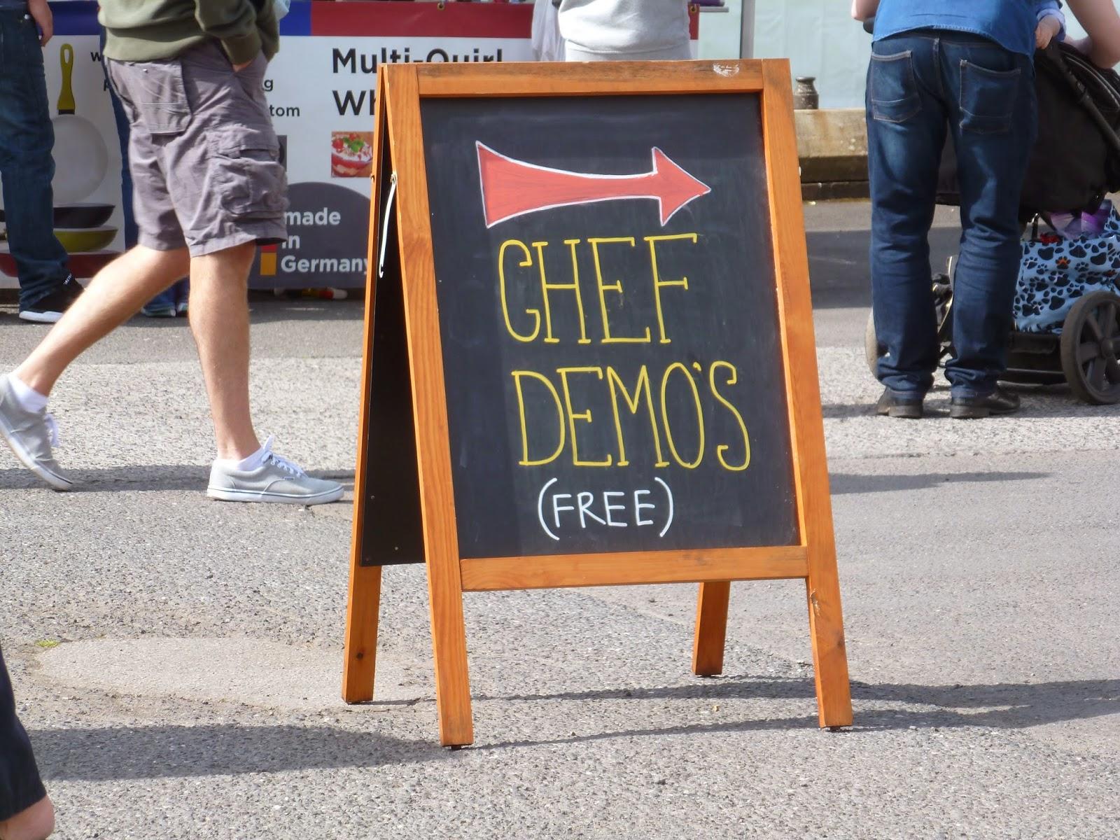 The great british food festival 2014 chef demos
