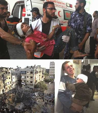 Israel attack on Gaza