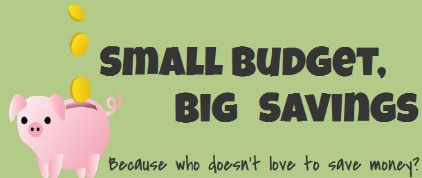 Small Budget, Big Savings - Because Who Doesn't Love to Save Money?