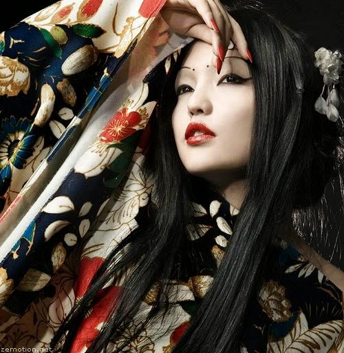 foto de modelo japonesas: