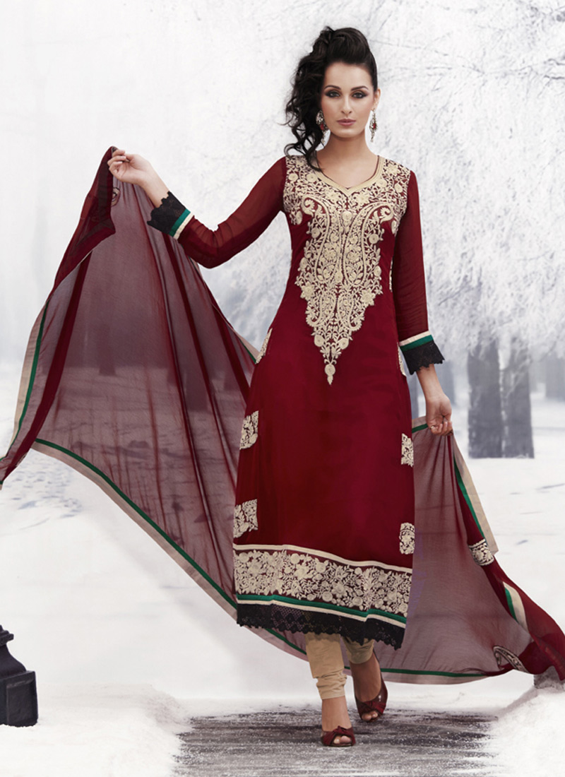 Pakistani salwar kameez dresses by indian online fashion for Online pakistani wedding dresses