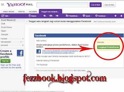 12. Email konfirmasi dari facebook seperti gambar di bawah sobat bisa ...