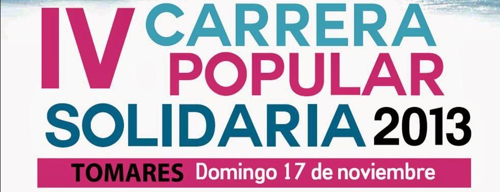 MILLA SOLIDARIA Y CARRERA POPULAR CIUDAD DE TOMARES