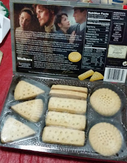walkers outlander shortbread box 2
