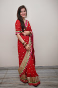 Priyal Gor Dazzling in Red Saree-thumbnail-15