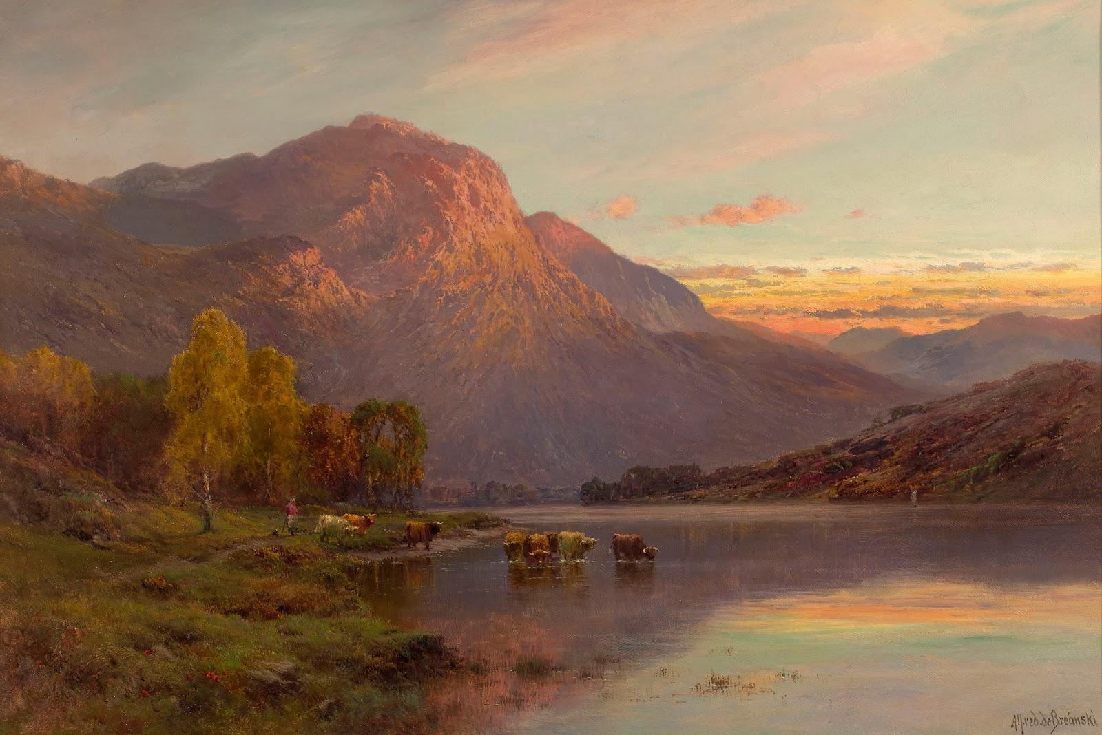 Breanski Paintings For Sale
