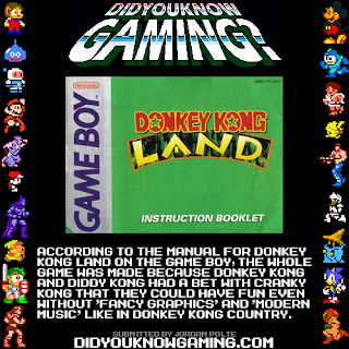 donkey kong land fact Random Game Facts   Donkey Kong Land