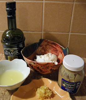 All Ingredients for Dressing Ready to Mix