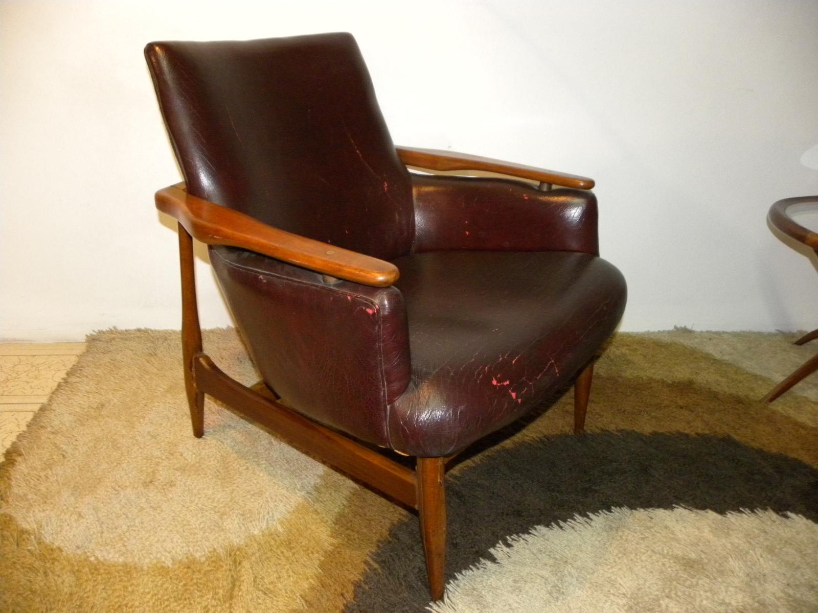 Deco retro vintage par de sillones escandinavos tipo for Tipos de sillones
