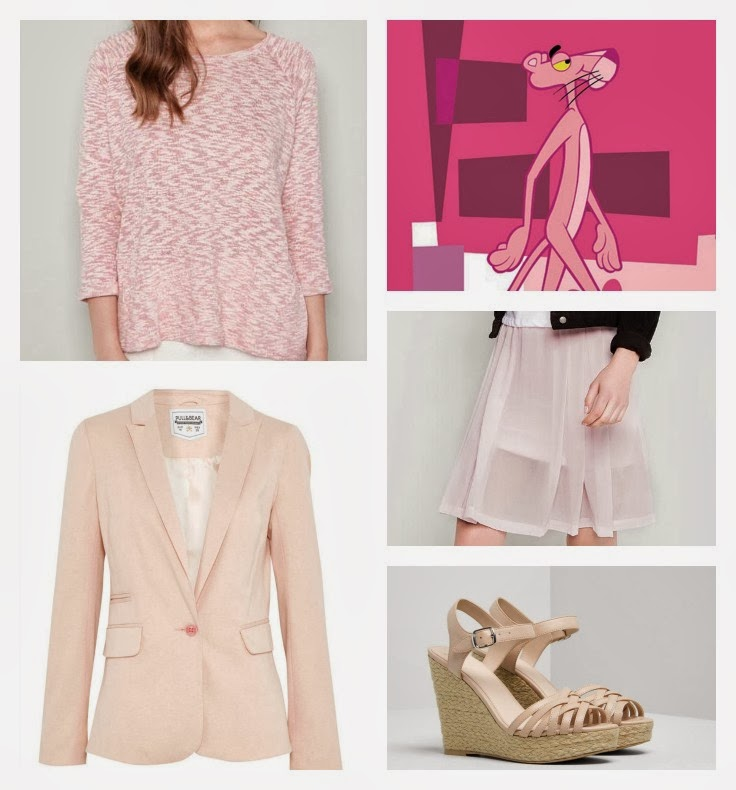 Sé una Pink Phanter y apuesta todo al rosa