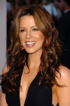 Beckinsale's warm chestnut brown gives any brunette an extra color ...