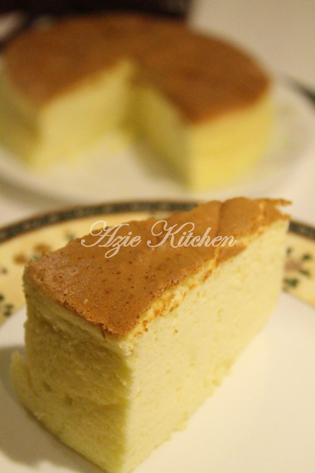 Cotton Soft Japanese Cheesecake Azie Kitchen