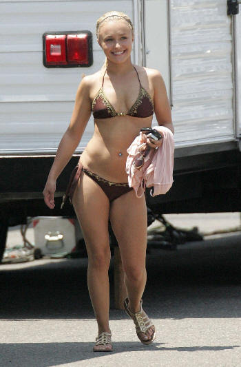 Celebrity Photo Bazer: Hayden Panettiere