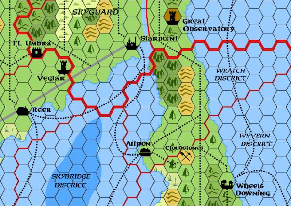 Mystara Alphatia Ar Wraith Hex Map